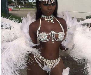 Angel Wings, Caribbean, and melanin image