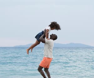 beach, movie, and omar sy image