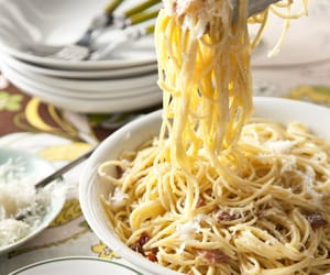 food, yummy, and pasta image