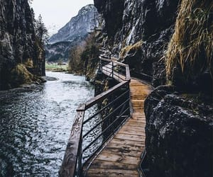 mountain, nature, and photography image