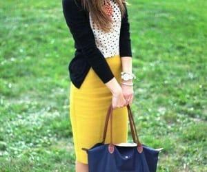 black, girl, and yellow image