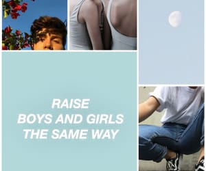 blue, boys, and the same image