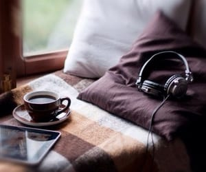 atmosphere, headphones, and music image