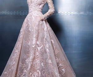 fashion, dress, and long dresses image