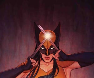 Marvel, x-23, and wolverine image