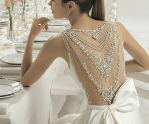boda, dress, and moño image