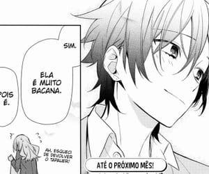 boy, manga, and couple image