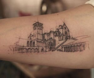 tattoo, arm, and drawing image