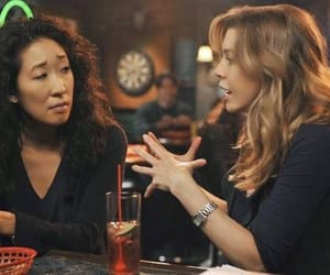 grey's anatomy, sandra oh, and ellen pompeo image