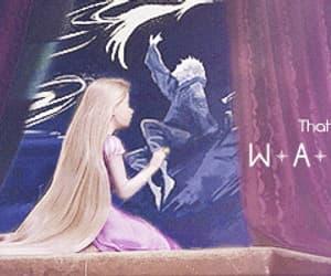 gif, moon, and rapunzel image
