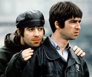again, liam gallagher, and noel gallagher image