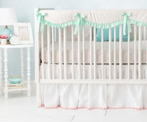 nursery, babybedding, and personalized image