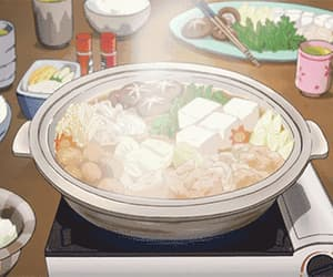anime, japan, and food image