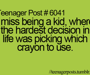 crayon, kid, and teenager post image