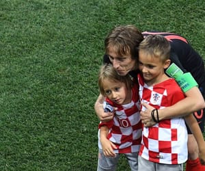 Croatia, luka modric, and love image
