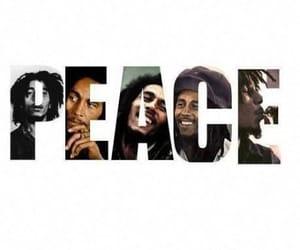 bob, bob marley, and peace image