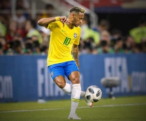 neymar, brazil, and football image