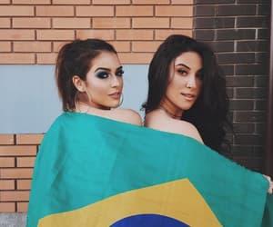 amizade, brazil, and hair image