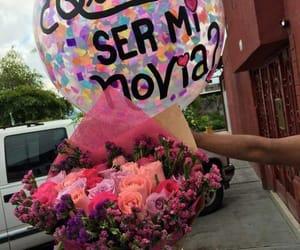 quieres ser mi novia and globos image