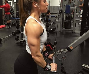 fitness, gym, and workout image