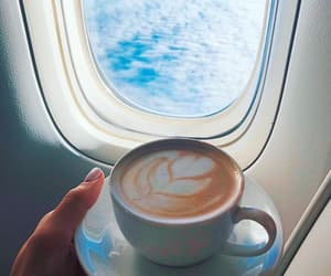 coffee and plane image