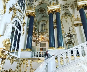 palace, russia, and hermitage image