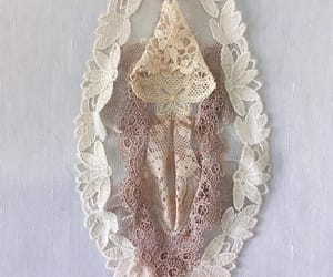art, textile art, and lace image