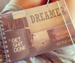 book, happiness, and dreamer image