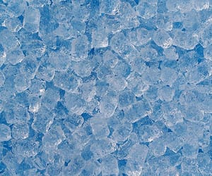 aesthetic, blue, and ice image