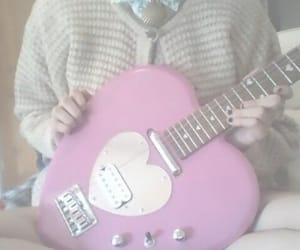 girly, kawaii, and pink heart image