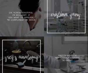 aesthetic, character, and cristina yang image