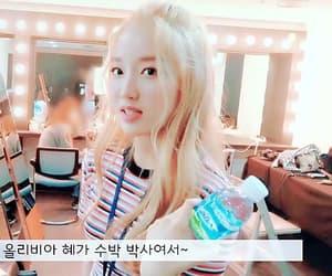 gif, korean, and loona image
