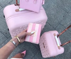 pink and travel image