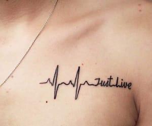 blackandwhite, heart, and tatoos image