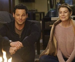 meredith grey, grey's anatomy, and alex karev image