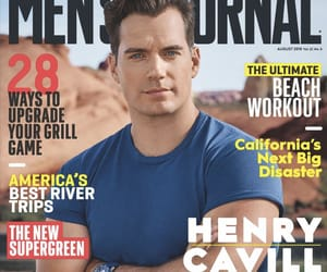 Henry Cavill, cover magazine, and photoshoot image