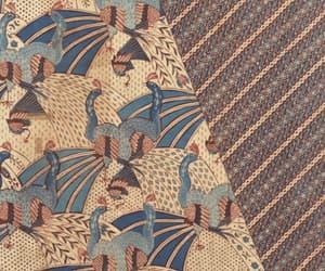 batik, peacock, and bird image