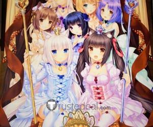 anime cosplay, cute anime girl, and chocola vanilla doujin image