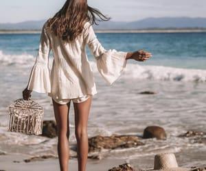 beach, boho, and style image