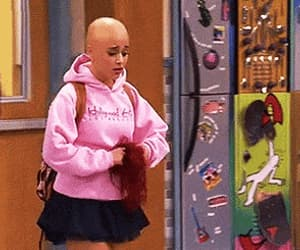 gif, cat valentine, and wig snatched image