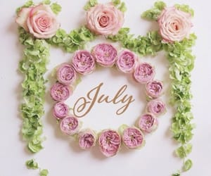 flowers, july, and cute image