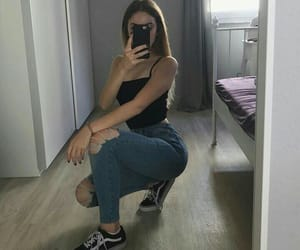 outfit, tumblr, and vans image