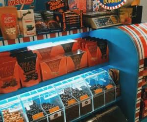 orange, blue, and blue and orange image