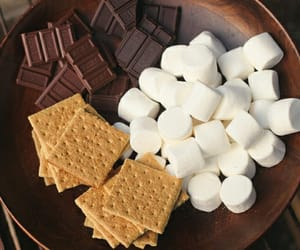 chocolate, crackers, and food image