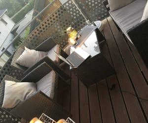 balcony, balkon, and candle image