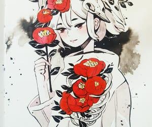 drawing, maruti bitamin, and watercolor image