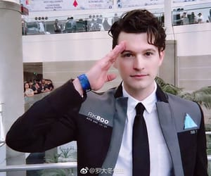 bryan dechart, Connor, and detroit become human image