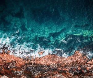beach, beautiful, and sand image