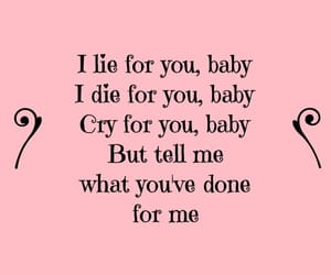 cry, for you, and girl image