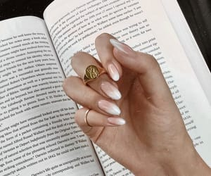 beige, book, and jewelry image